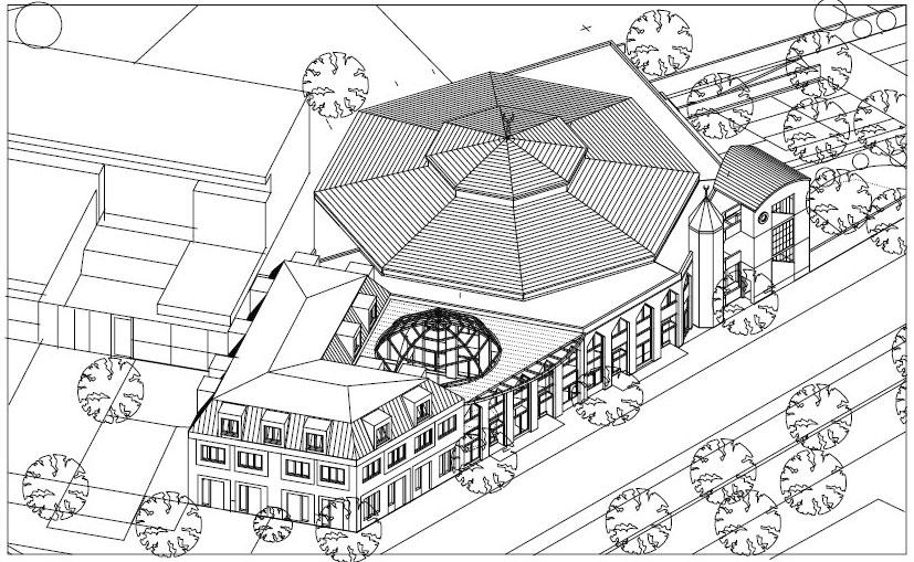 Plan de la mosquée