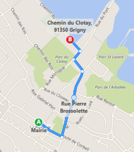 7 chemin du Clotay, Grigny